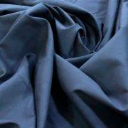 Tecido Tricoline Lisa 100% Algodão Para Mascara Azul Marinho Noite