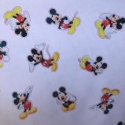 Tecido Tricoline Mista Estampada 65%Poliéster 35%Algodão Mickey 2