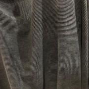 Tecido Veludo Cotele Preto