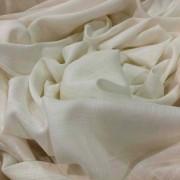 Tecido Viscose Rayon Maquinetada Off White