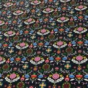 Tricoline Estampada Floral