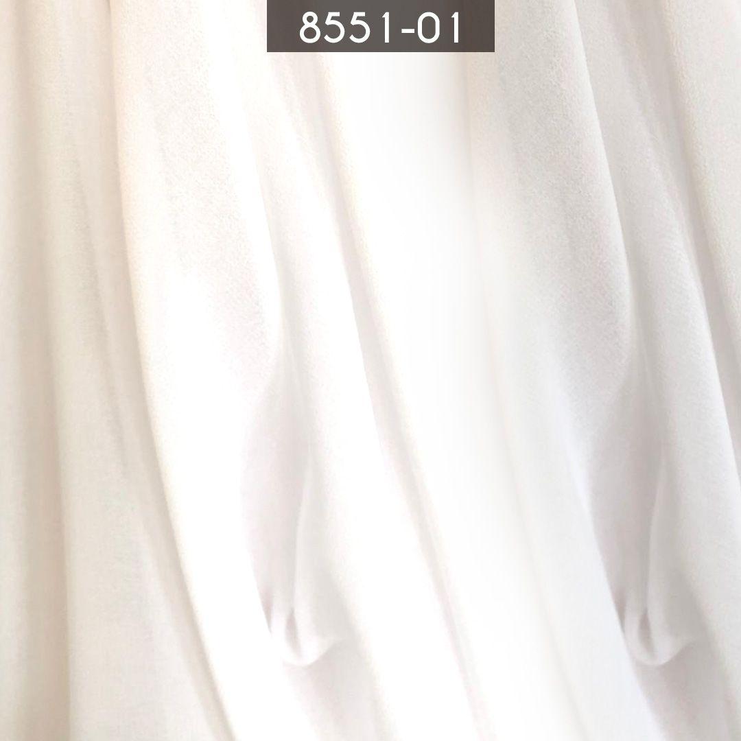 Tecido Musseline Toque de Seda Branco