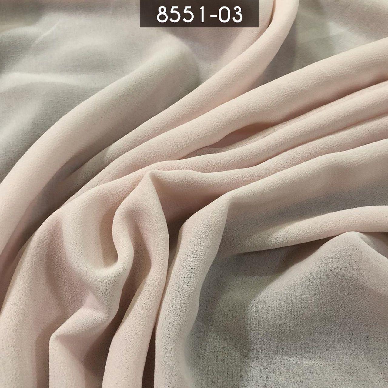 Tecido Musseline Toque de Seda Nude