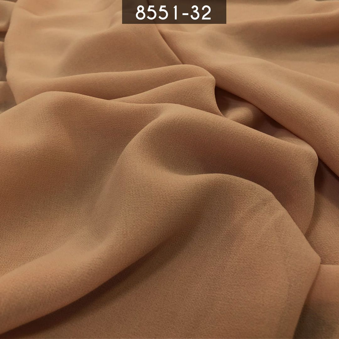 Tecido Musseline Toque de Seda Pele