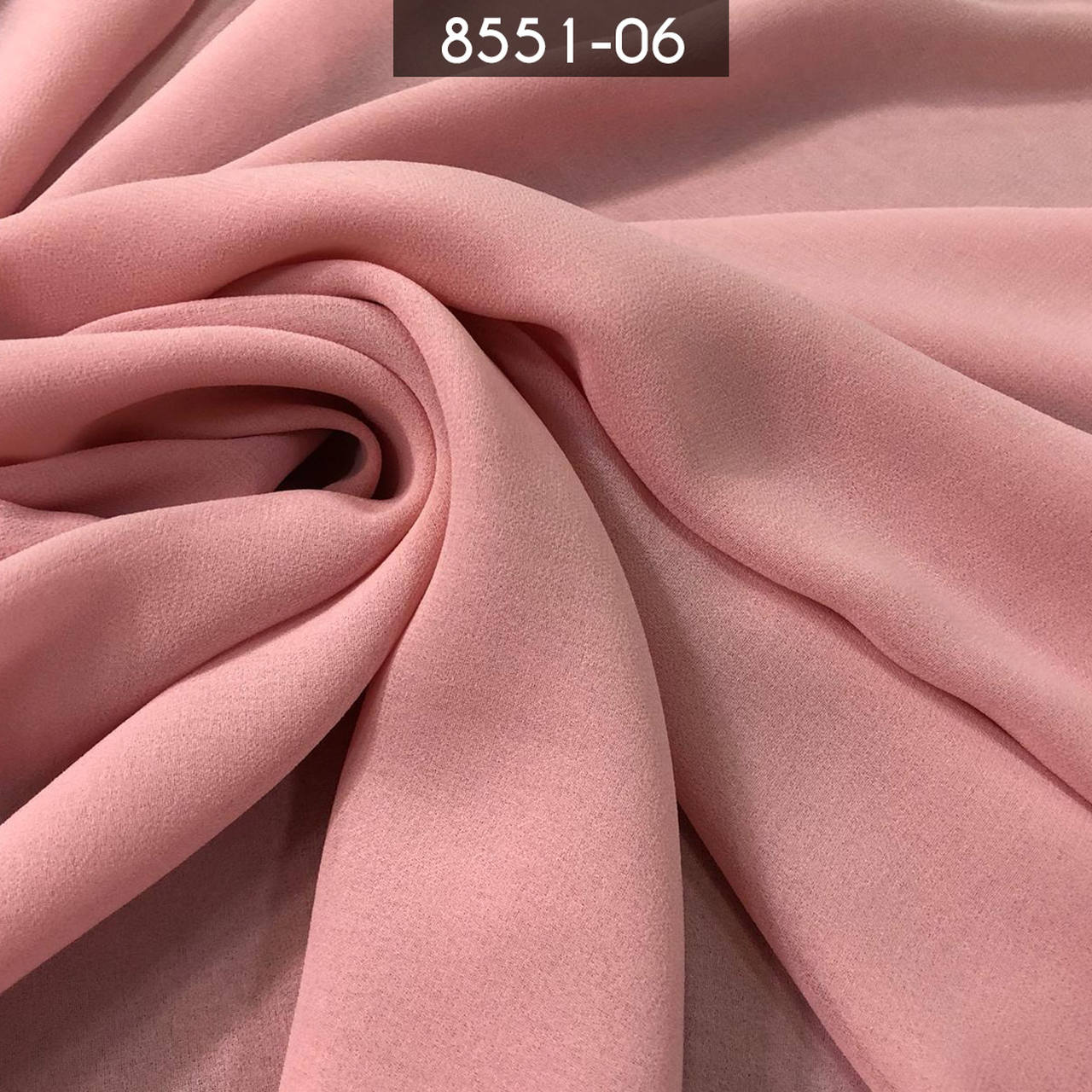 Tecido Musseline Toque de Seda Rosa