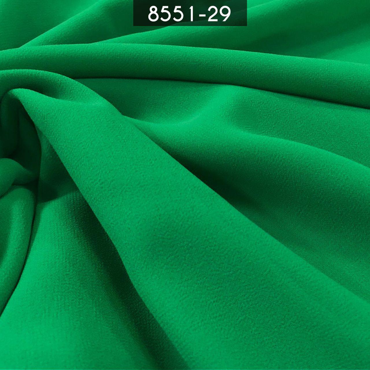 Tecido Musseline Toque de Seda Verde Malva