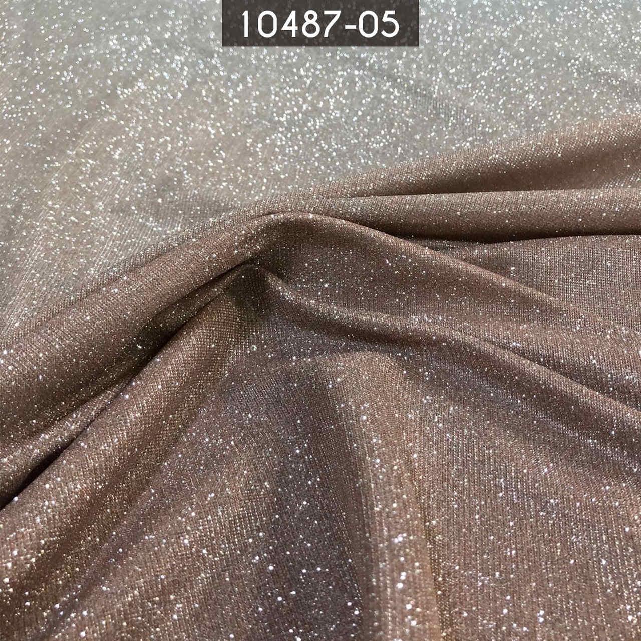 Tecido Lurex Degradê Com Glitter Ouro/Prata