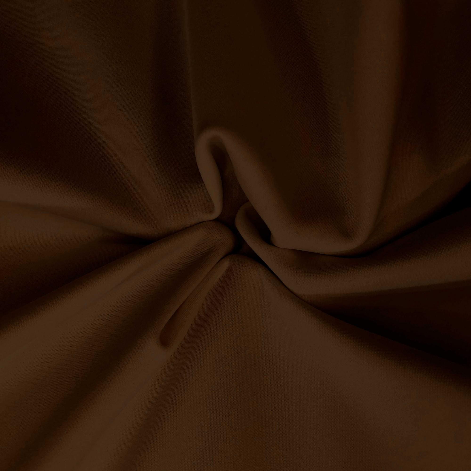 Tecido Malha Suplex 92%Poliamida 8%Elastano Marrom