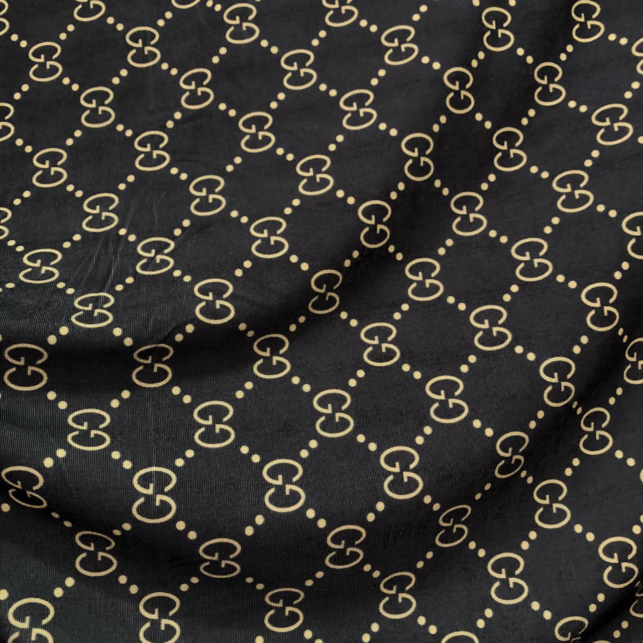Tecido Malha Slinky Estampado 92%Poliéster 8%Elastano Gucci 2