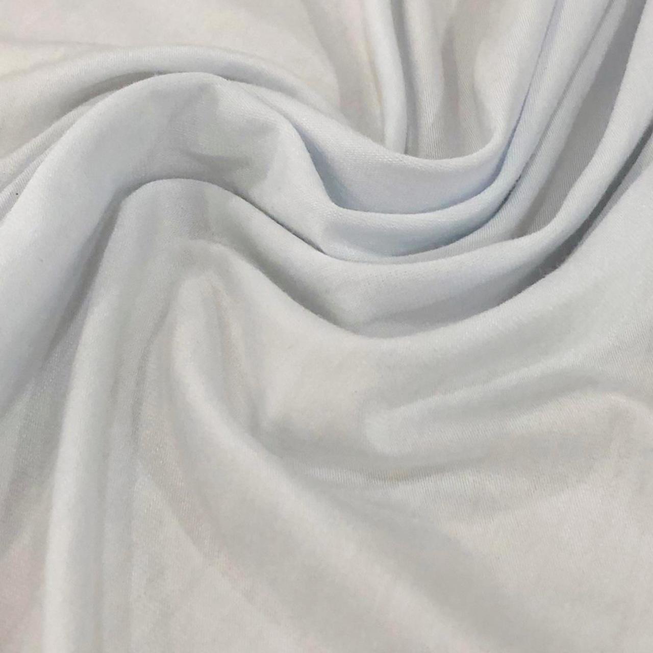Tecido Malha Viscolycra  92%Viscose 8%Elastano Branco
