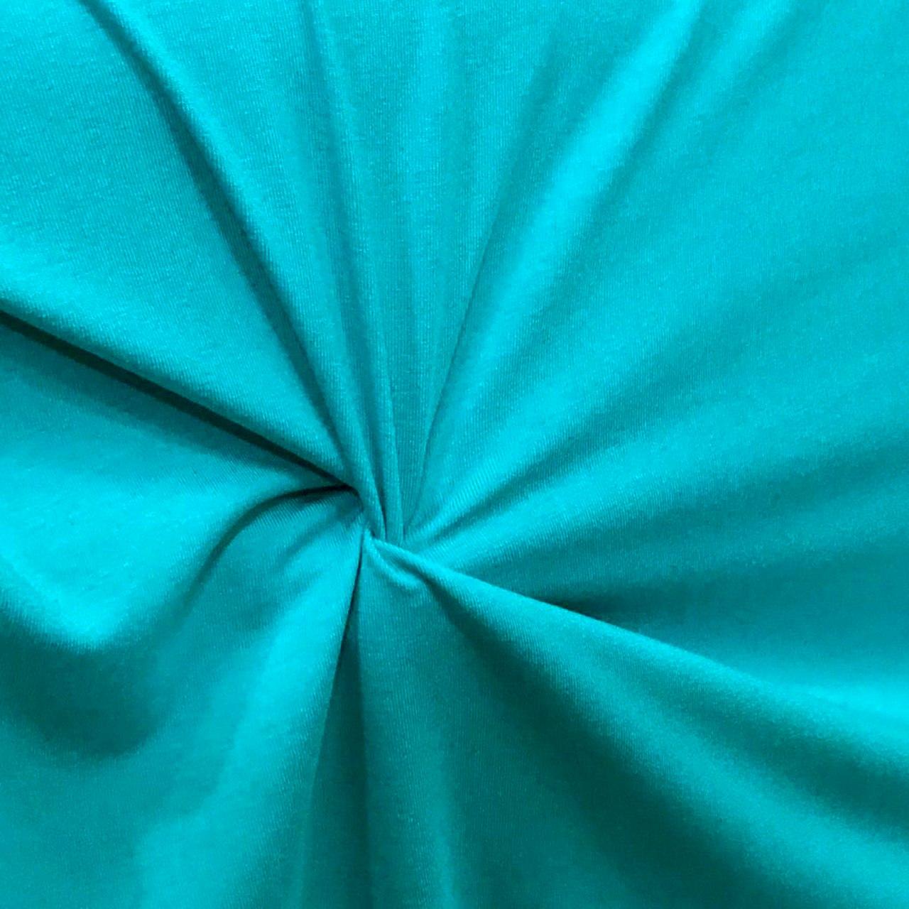 Tecido Malha Viscolycra  92%Viscose 8%Elastano Jade
