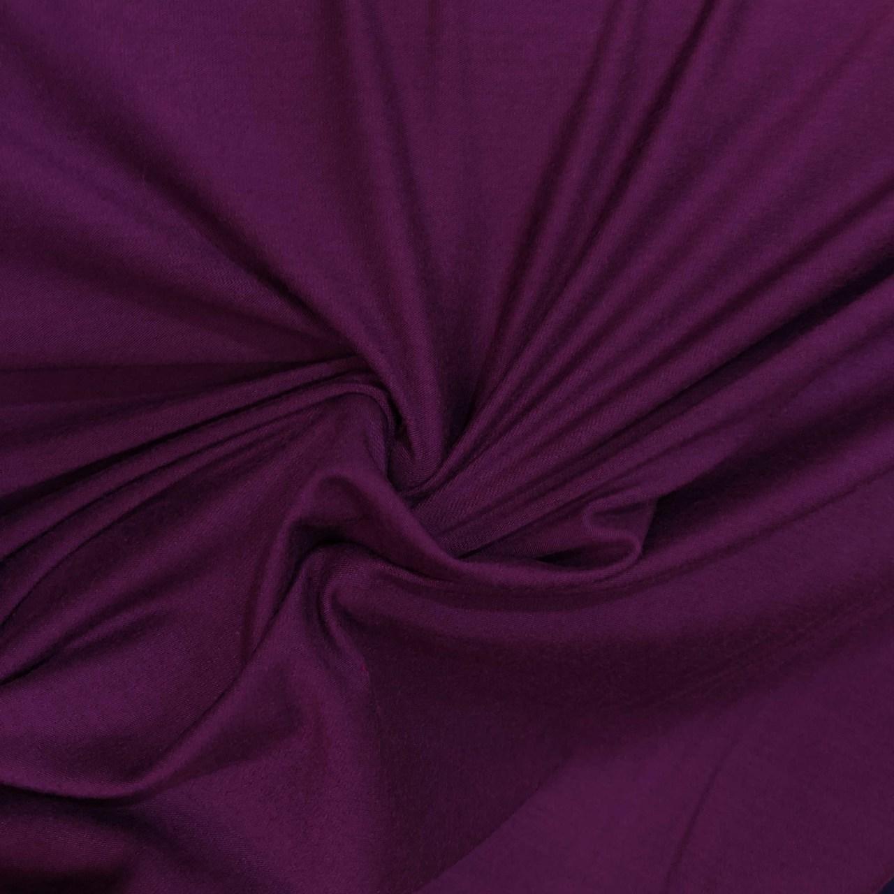 Tecido Malha Viscolycra  92%Viscose 8%Elastano Uva