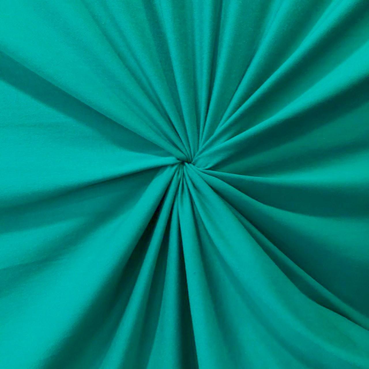 Tecido Malha Viscolycra  92%Viscose 8%Elastano Verde Bandeira