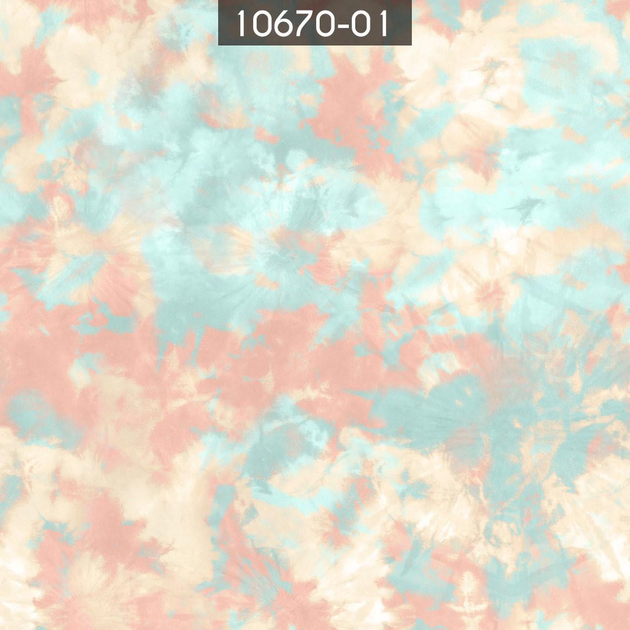 Tecido Seda Gloss Tie Dye 01