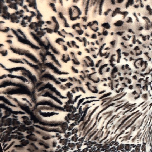 Tecido Soft Animal Print