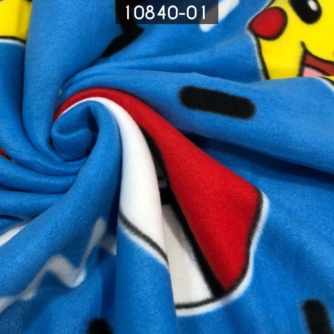 Tecido Soft Estampado Pokemon