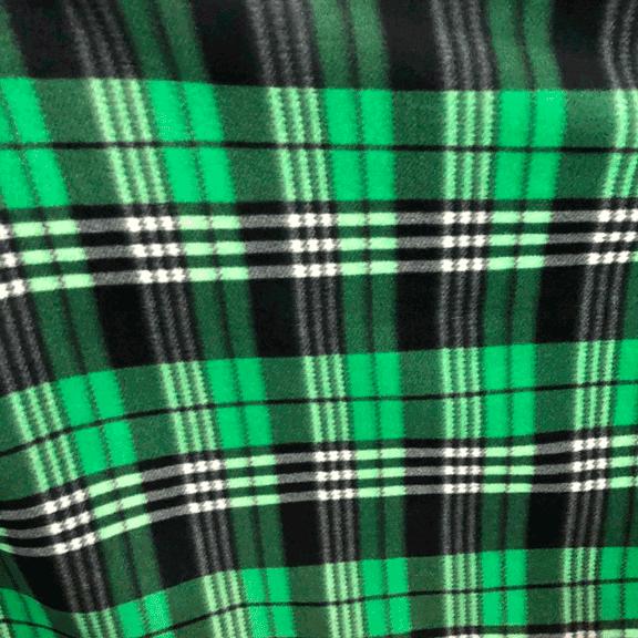 Tecido Soft Xadrez Verde/Branco
