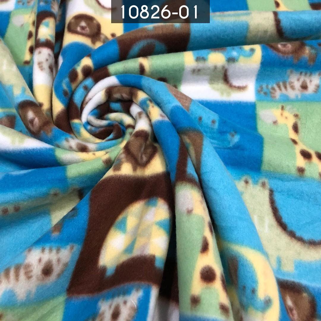 Tecido Soft Estampado Zoológico