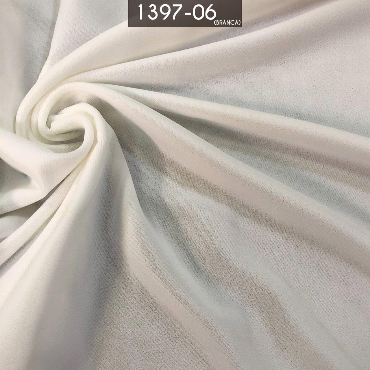 Tecido Veludo Alemão Branco
