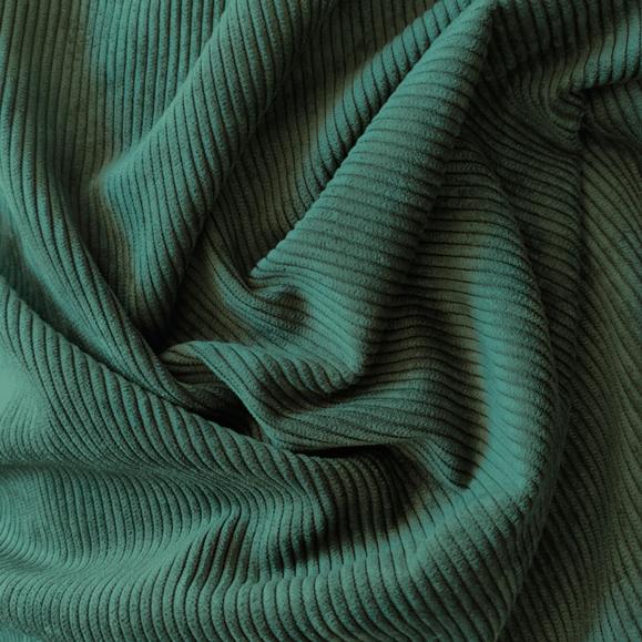 Tecido Veludo Cotele Verde Militar