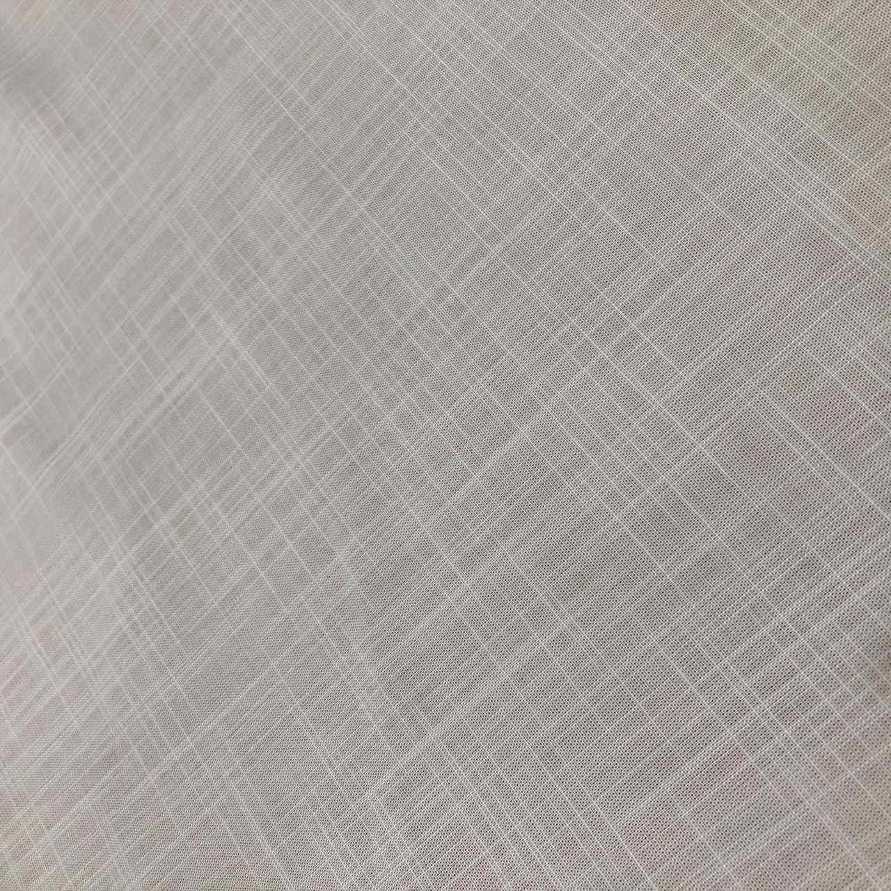 Tecido Viscose Rayon Maquinetada Branco