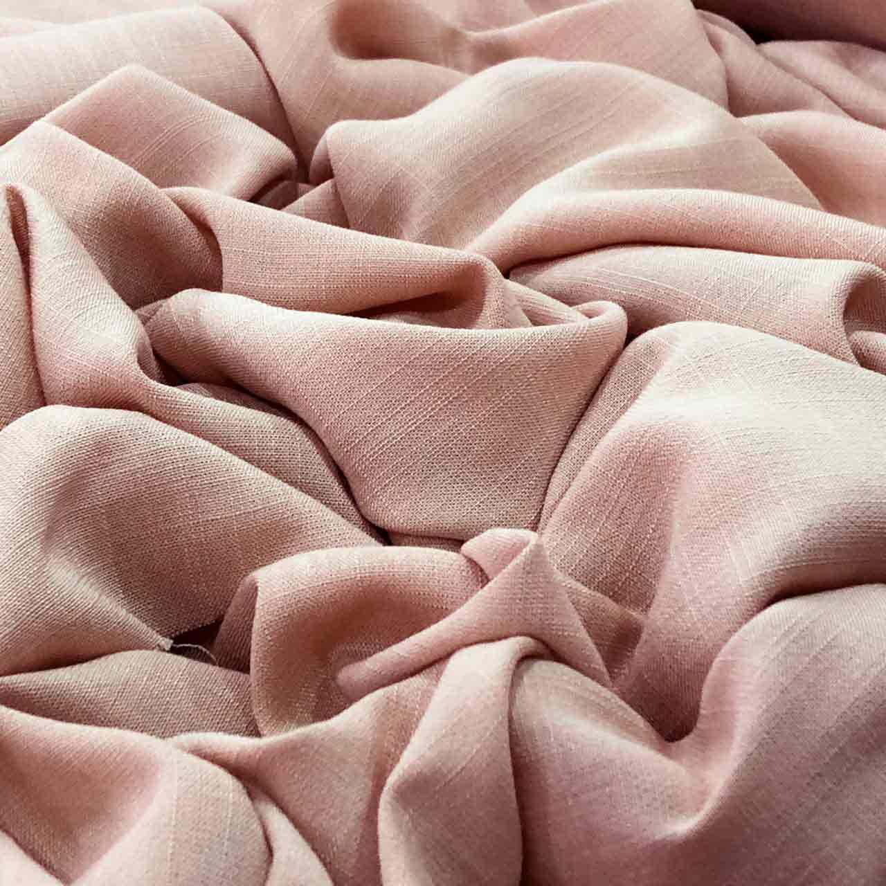 Tecido Viscose Rayon Maquinetada Rosa