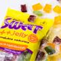 Bala de Alga Marinha Sweet Jelly Kit Morango e Frutas 3 unidades