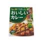 Karê Japonês Pronto Instantâneo Nattoku Oishii Curry Amakuchi S&B 180g