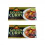 Karê Japonês Golden Curry Forte Karakuchi S&B 220g 2 Unidades