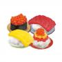 Kit para Preparo de Doces Infantil Popin Cookin Kracie Happy Osushi Ya San 28,5g