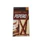 Pepero Amendoim e Chocolate