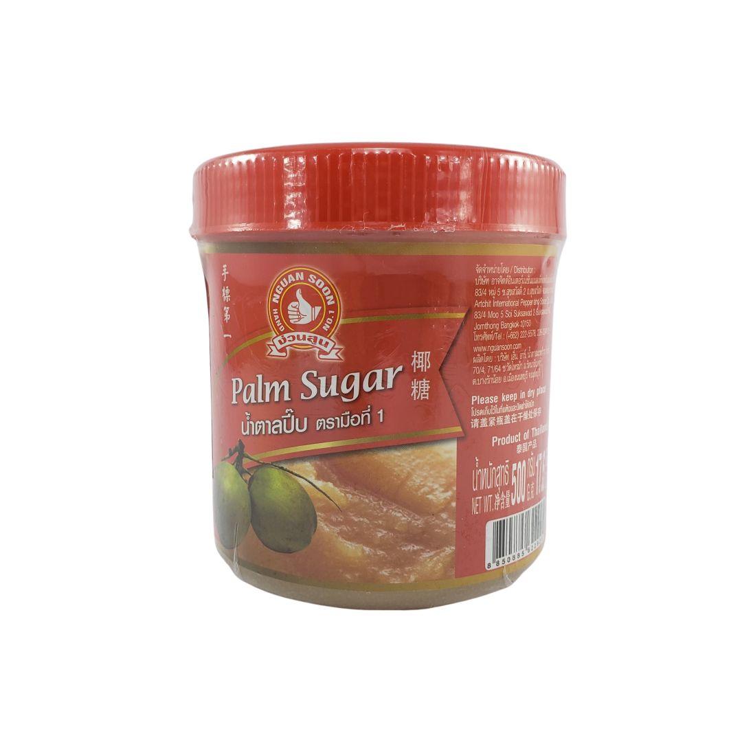 Açucar de Palma Tailandês Palm Sugar Nguan Soon 500g