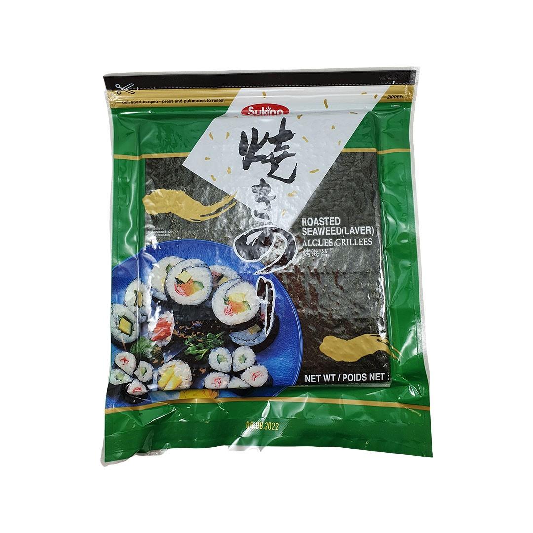 Alga Marinha Nori para Sushi e Temaki Yakinori Sukina 50 Folhas