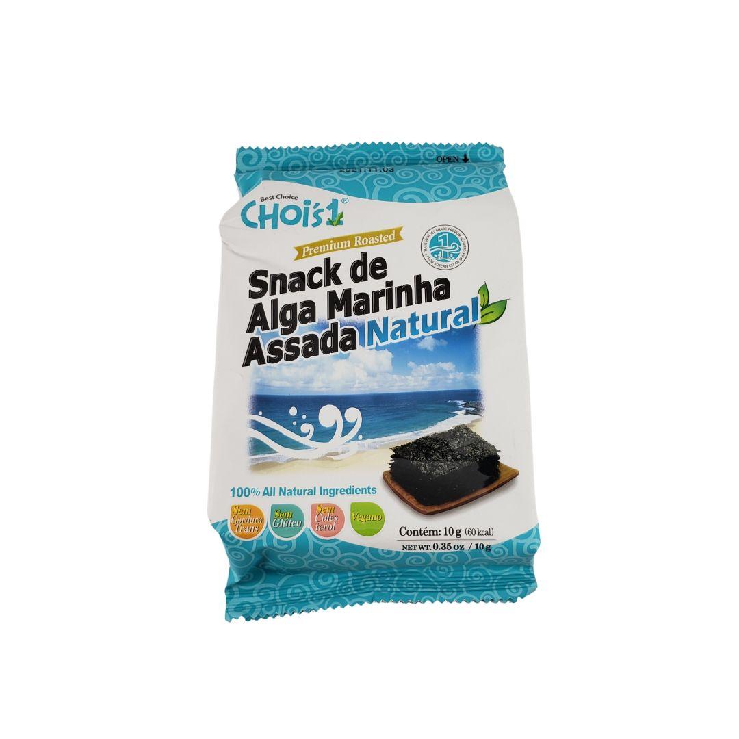 Alga Marinha Nori Temperada Assada Aperitivo Snack Natural Dae Chun 10g