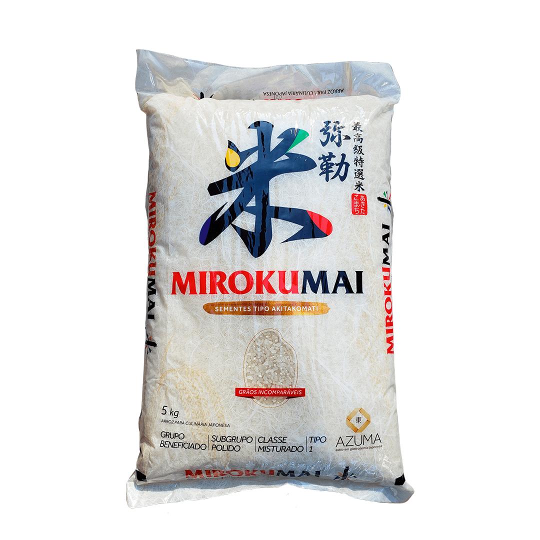 Arroz Japonês Mirokumai Sementes Akitakomati 5Kg