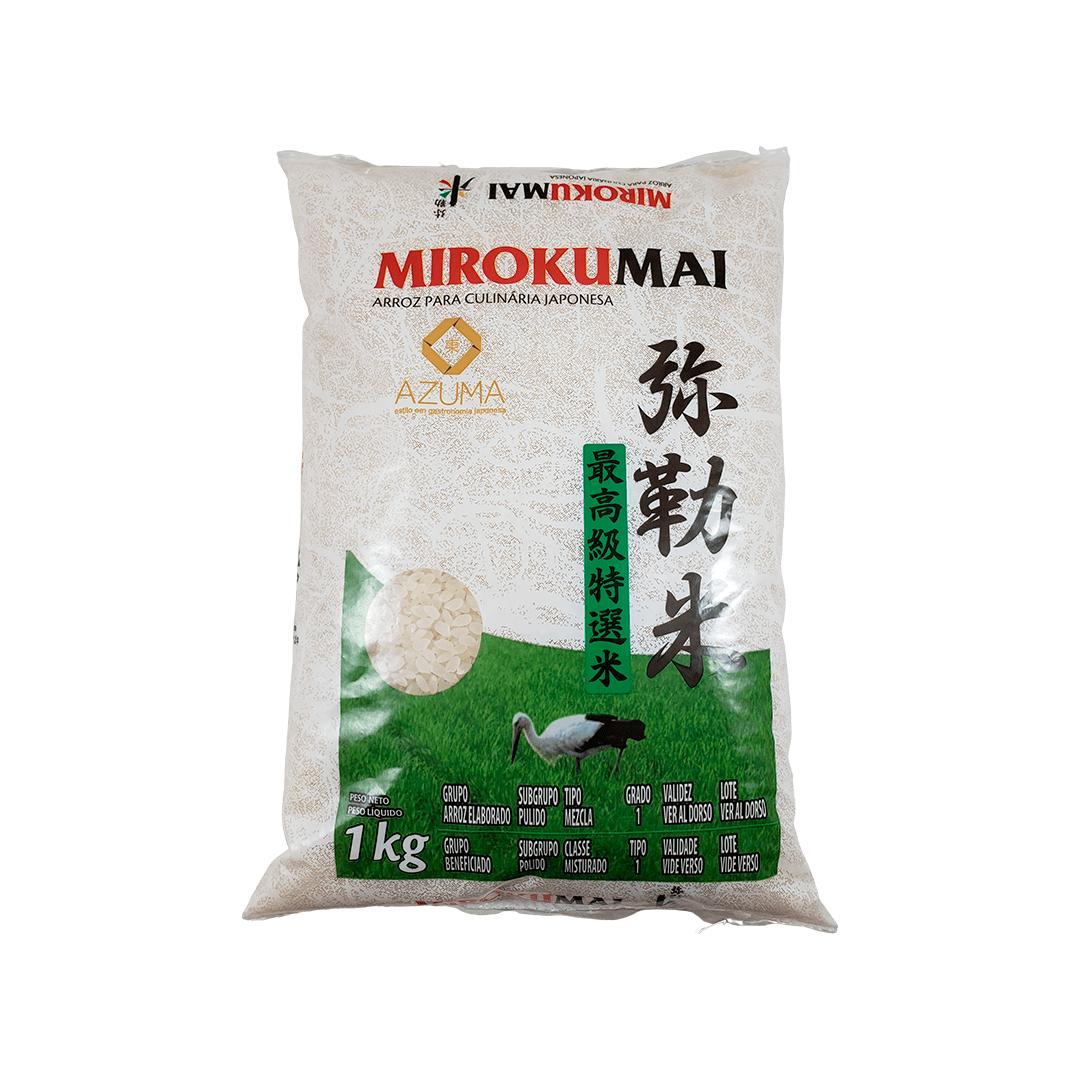 Arroz Japonês Mirokumai 1Kg