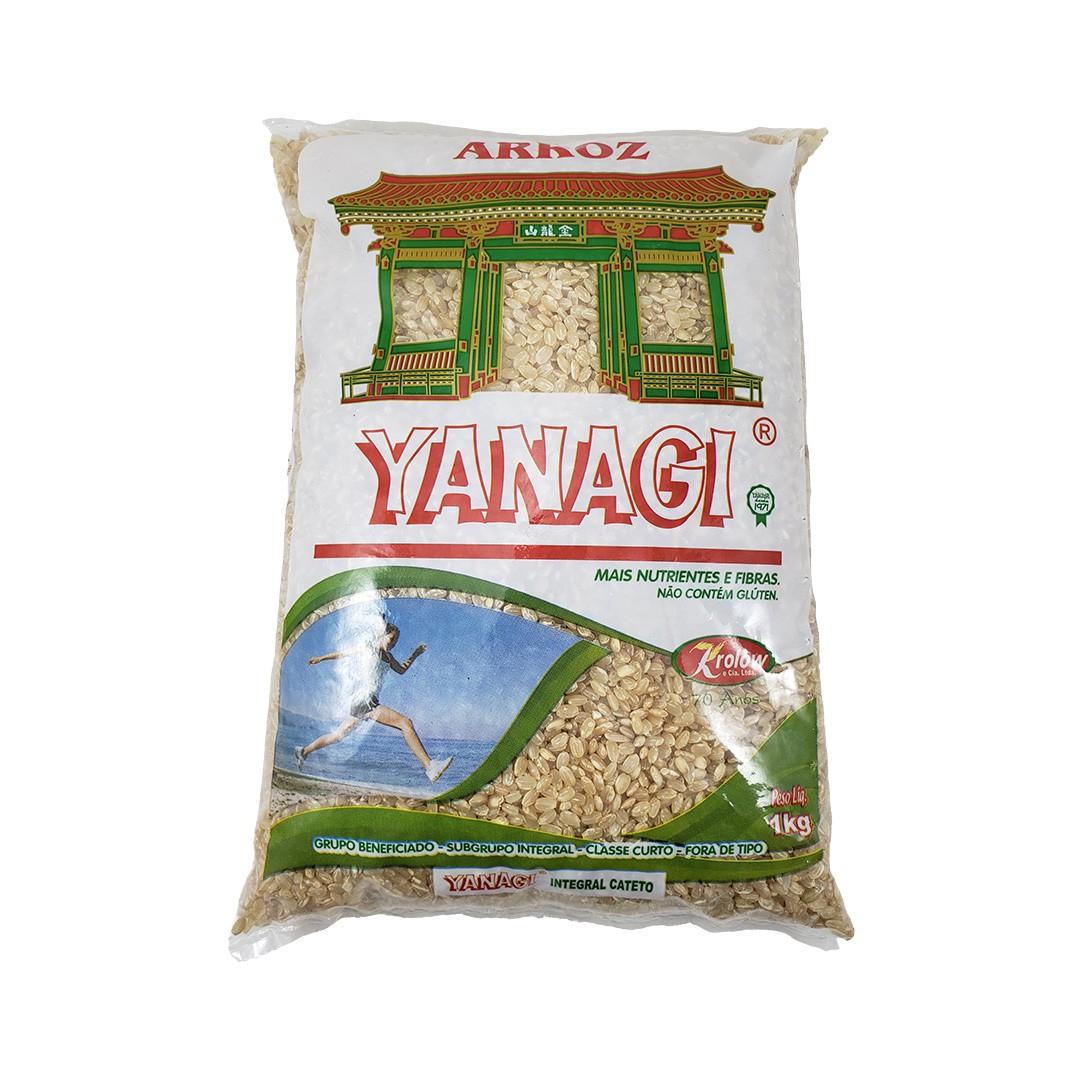 Arroz Japonês Yanagi Cateto Curto Integral - 1Kg