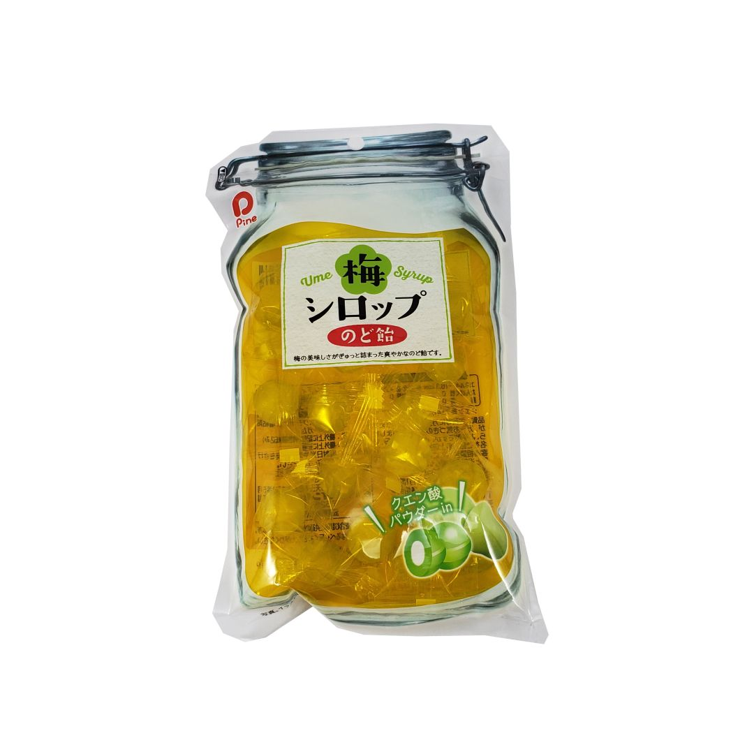 Bala de Ameixa Japonesa Ume Syrup Nodo Ame Pine 75g