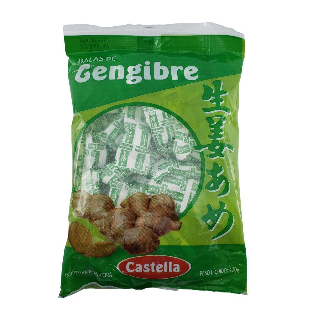 Bala de Gengibre Castella 170g