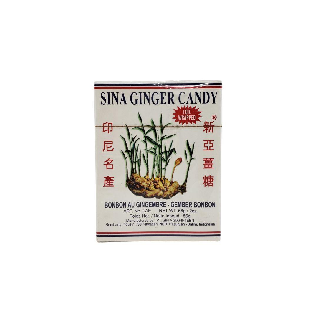 Bala de Gengibre Sina Ginger Candy 56g