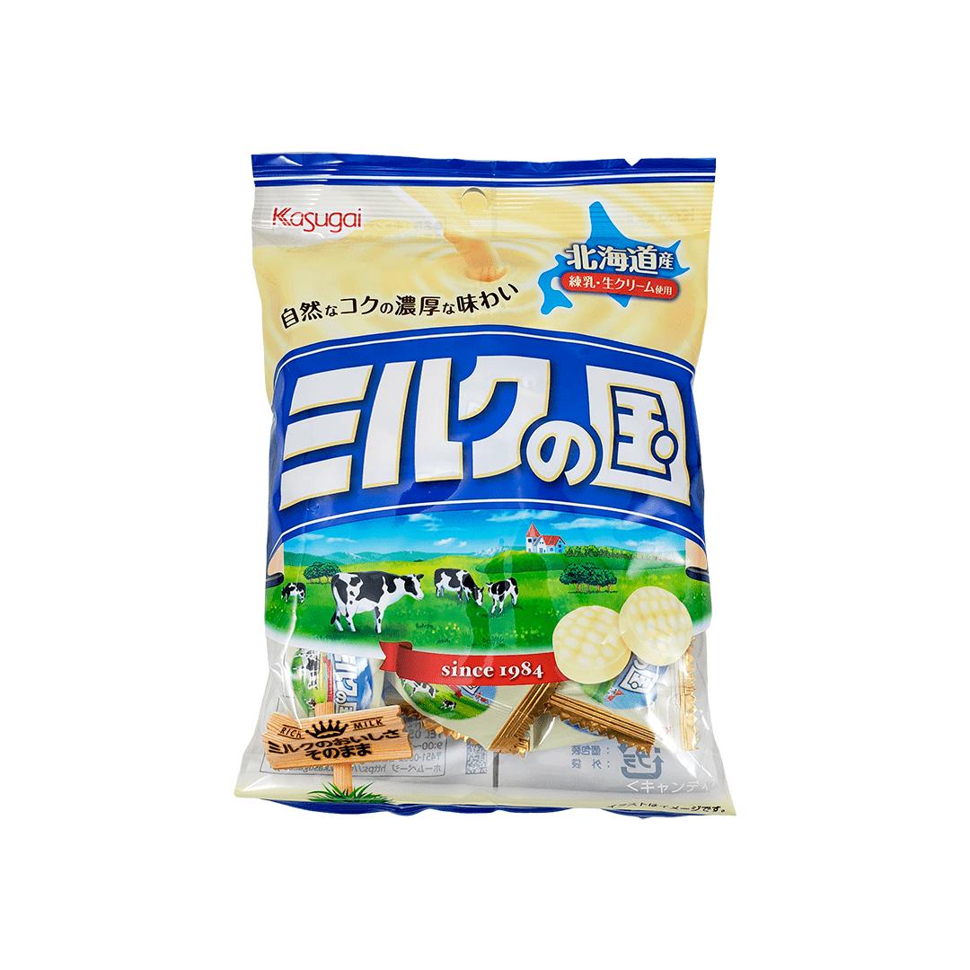 Bala de Leite Milk no Kuni Kasugai 125g