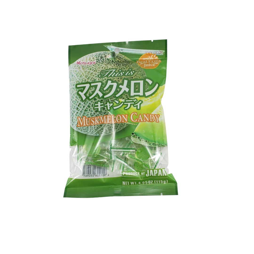 Bala de Melão Japonesa - Kasugai Musk Melon Candy