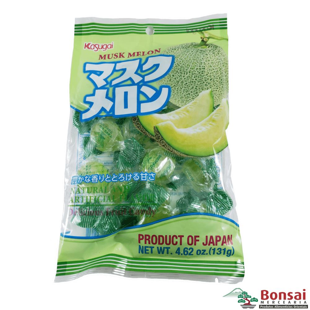 Bala de Melão Japonesa - Kasugai Musk Melon Candy 131g