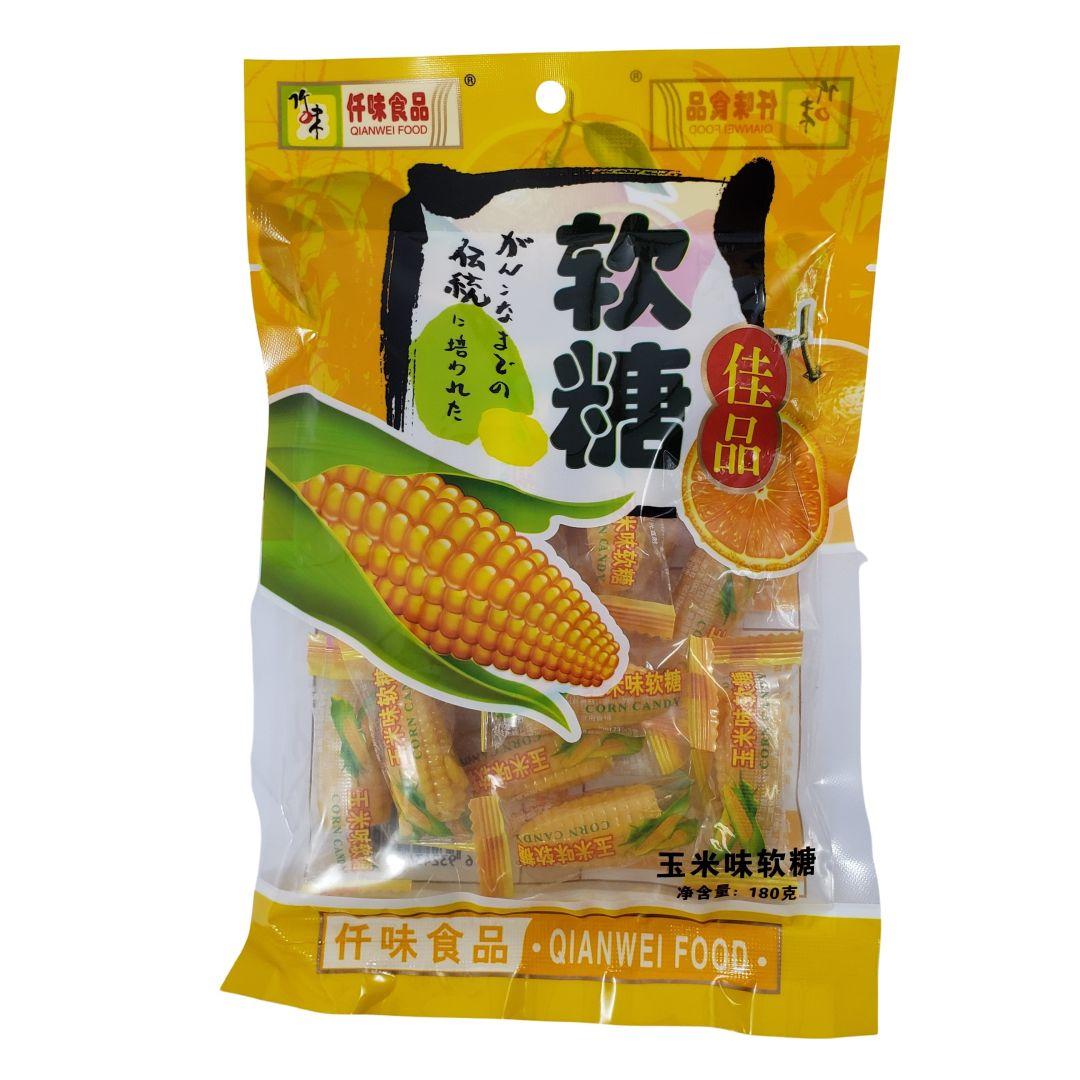 Bala de Milho Qianwei Food 180g