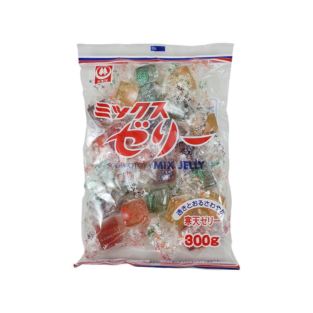 Bala Gelatinosa de Frutas Mix Jelly Sugimotoya 300g