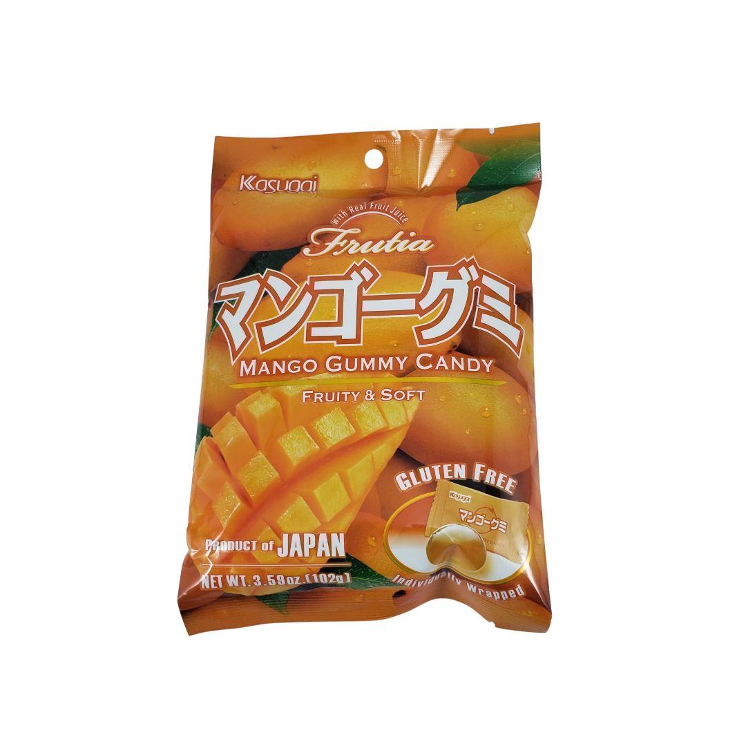Bala Gelatinosa Japonesa sabor Manga Kasugai Gummy Candy 102g