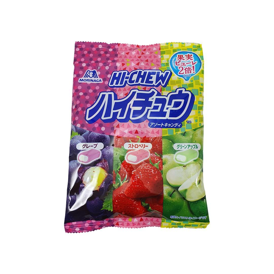 Bala Japonesa de Frutas Sortidas Morinaga Hi Chew Candy