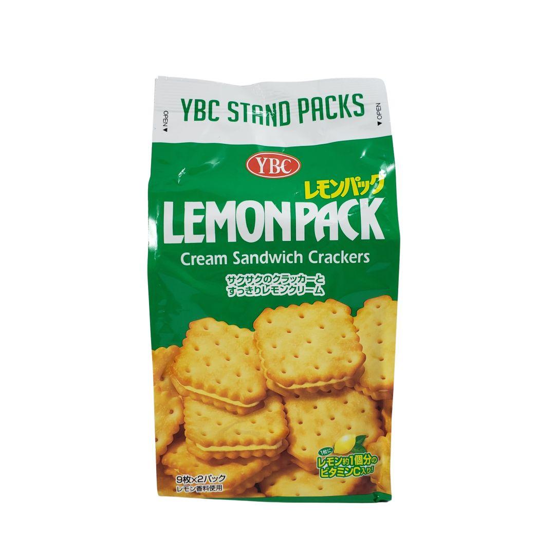 Biscoito com recheio de limão japonês YBC 167g