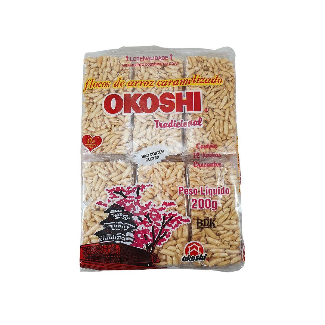 Biscoito de Arroz Caramelizado Okoshi 200g