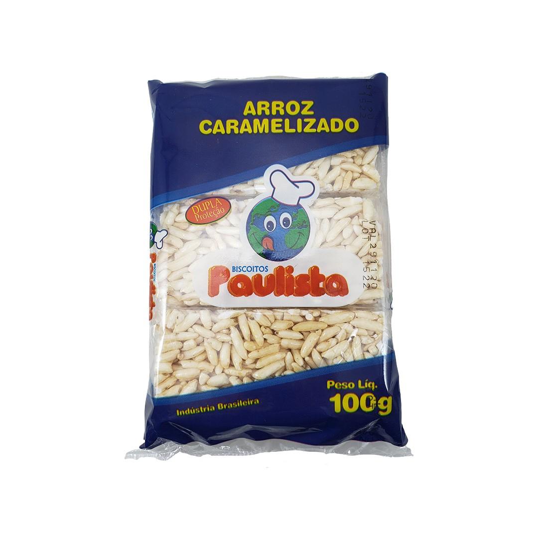 Biscoito de Arroz Caramelizado Paulista 100g